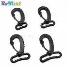 1000 unids/pack ganchos de plástico giratorios para cinturones de bolsa correas llavero cierre mochila Accesorios