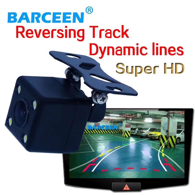 On promotion product car rear view camera adapt into various kinds of cars bring car Dynamic