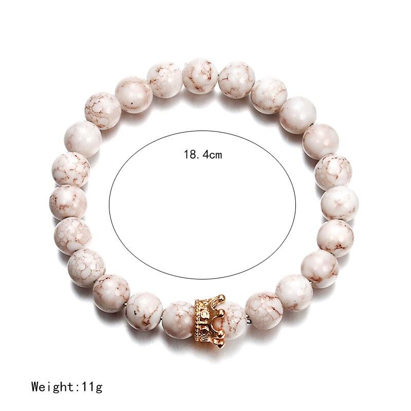 Image 5 - Мужской браслет NS74 Newst 7, браслет для йоги из натуральных камнейБраслеты с шармами