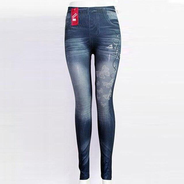 2016 Nieuwste Sexy Hot Koop Dames Bodycon Ster Vlinder Lente Potlood Hoge Taille Jeans Stretch skinny jeans vrouwen jeans broek