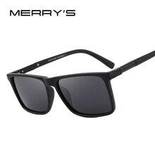 MERRYS DESIGN Men Polarized Rectangle Sunglasses 100% UV Pro