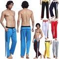 Новый Стиль Мужчины брюки Брюки Троса Носить Брюки шелковистой Дышащие 8 ЦВЕТОВ размер S, M, L, XL
