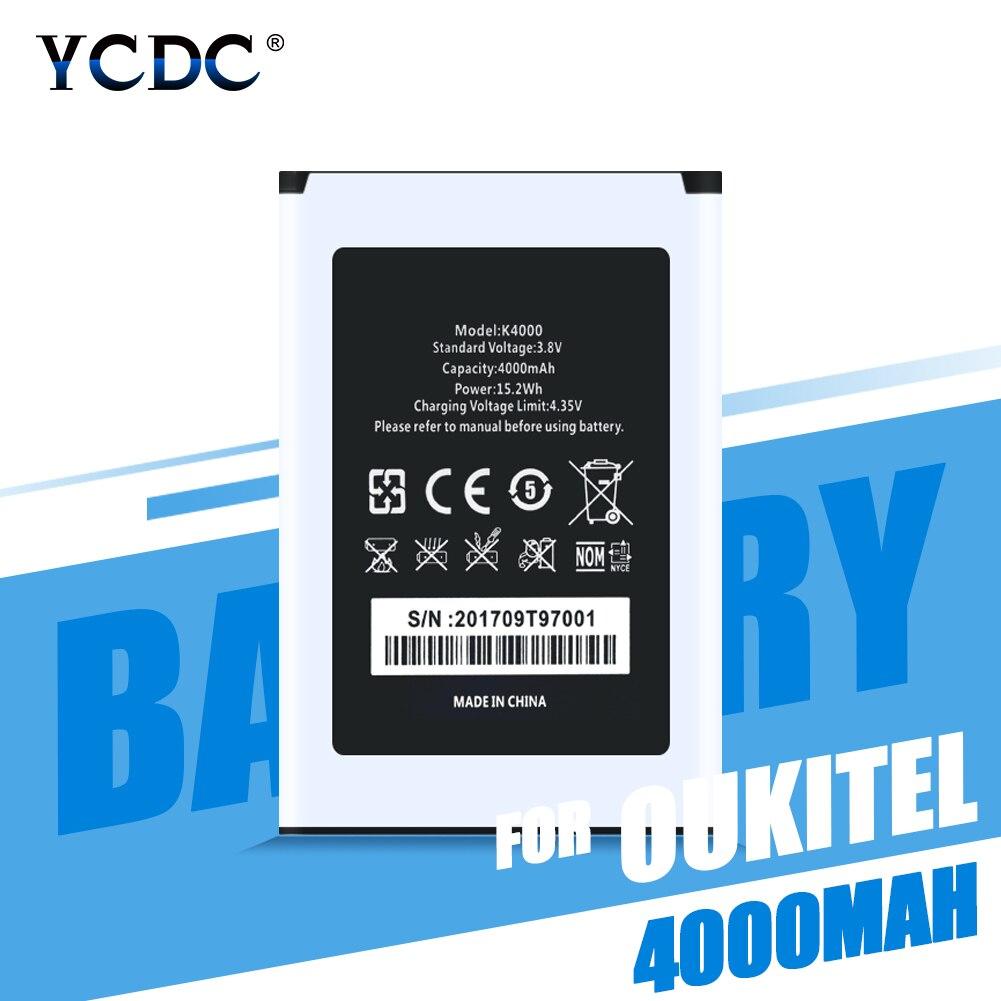 €4.53 29% СКИДКА|Литий ионные аккумуляторы для Oukitel K4000 батарея высокого качества 4000 мАч батарея Замена для Oukitel K4000 Lite смартфон Bateria|Аккумуляторы для мобильных телефонов| |  - AliExpress