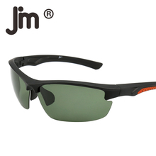 JM Wholesale 50PCS/LOT Mixed Colors Sport Polarized Sunglasses Men Women Semi Rimless Running Fishing Golf Hiking Outdoor Goggle