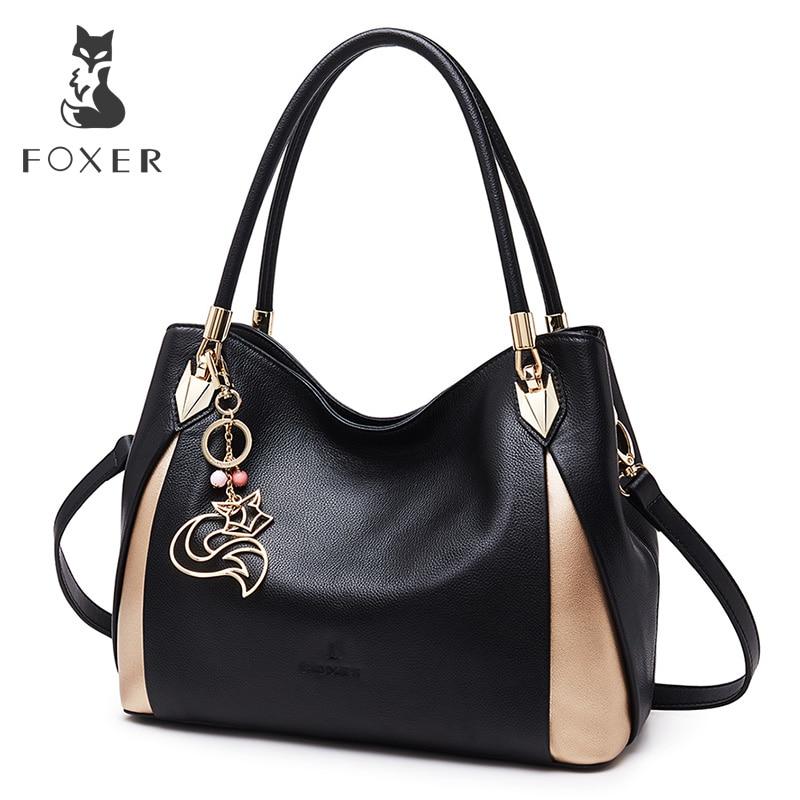 FOXER брендовые мягкие для женщин пояса из натуральной кожи сумка одноцветное Multi цвет Женская сумочка с Бесплатная доставка