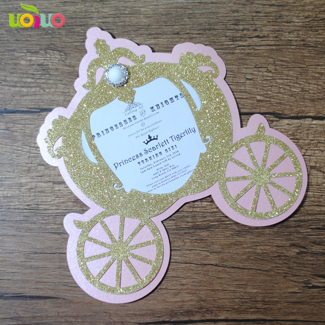 30pcs Free Shipping Laser Cut Lovely Baby Shower Birthday Invitation Card Christening Baptism Invitationspearl Extra Cost