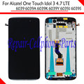 Full LCD DIsplay+Touch Screen Digitizer+Frame Cover Assembly For Alcatel One Touch Idol 3 LTE 6039 6039A 6039K 6039Y 6039J 6039S