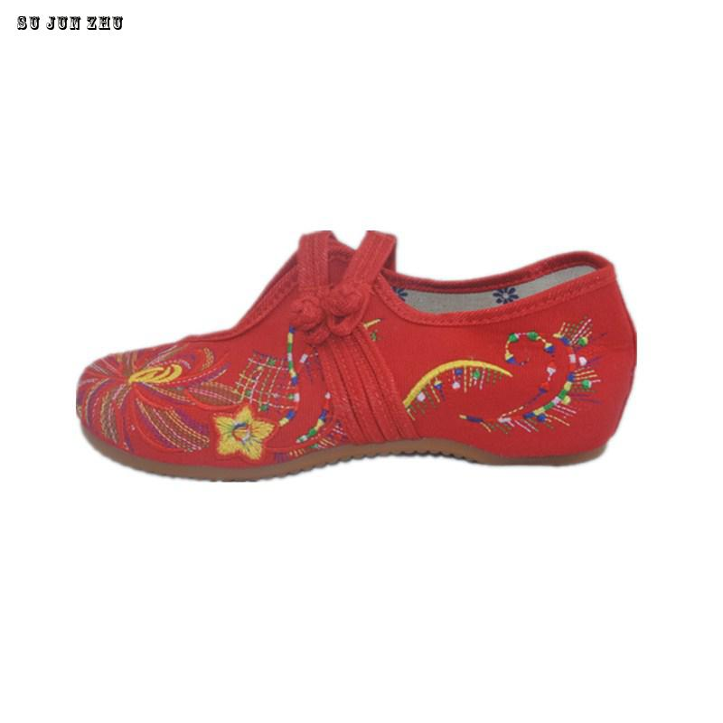 New 2016 women's embroidery shoes Canvas Red+Blue+Black Chinese elements nation Comfortable breathable Canvas Shoes  41 Size 8 9 a three dimensional embroidery of flowers trees and fruits chinese embroidery handmade art design book
