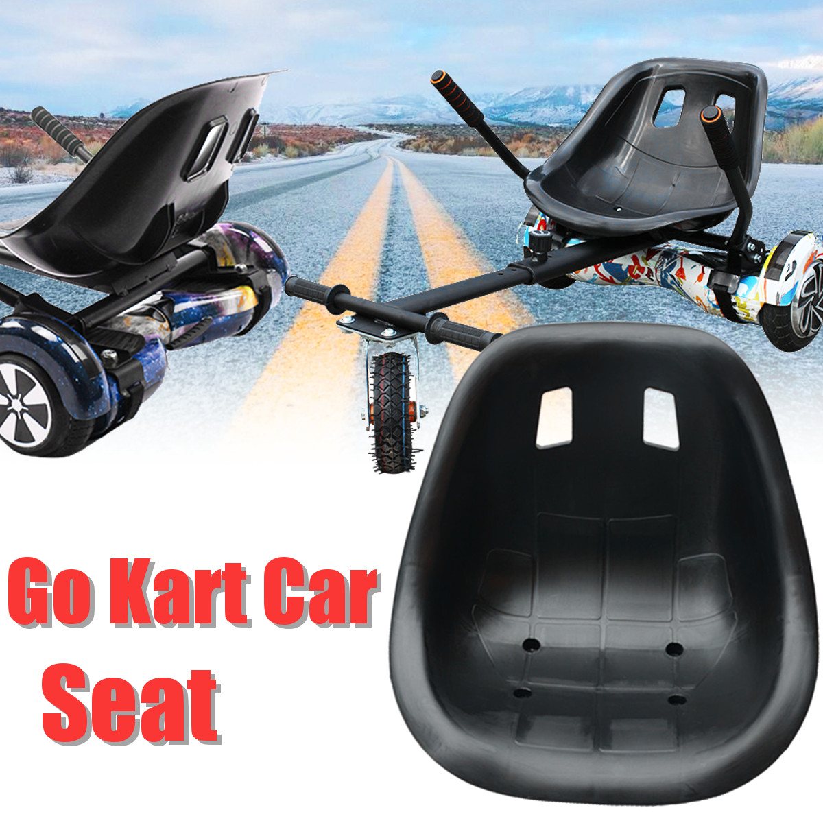 43.3x34.5cm Saddle Replacement Drift Balancing Vehicle Go Kart Car Seat For Drift Trike Racing Go Kart Black43.3x34.5cm Saddle Replacement Drift Balancing Vehicle Go Kart Car Seat For Drift Trike Racing Go Kart Black