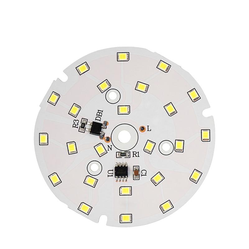 LED SMD Chip Smart IC Chip 3W 5W 7W 9W 12W 15W 18W AC220V Input DIY For Down Light Spotlight Ceiling Light Cold White Warm White