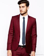 Burgundy Prom Suits Promotion-Shop for Promotional Burgundy Prom ...
