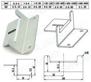 Image 5 - 50 Sets 100% Aluminum Z  mounting Type Solar Panel Roof Mounting Bracket for carvan roof