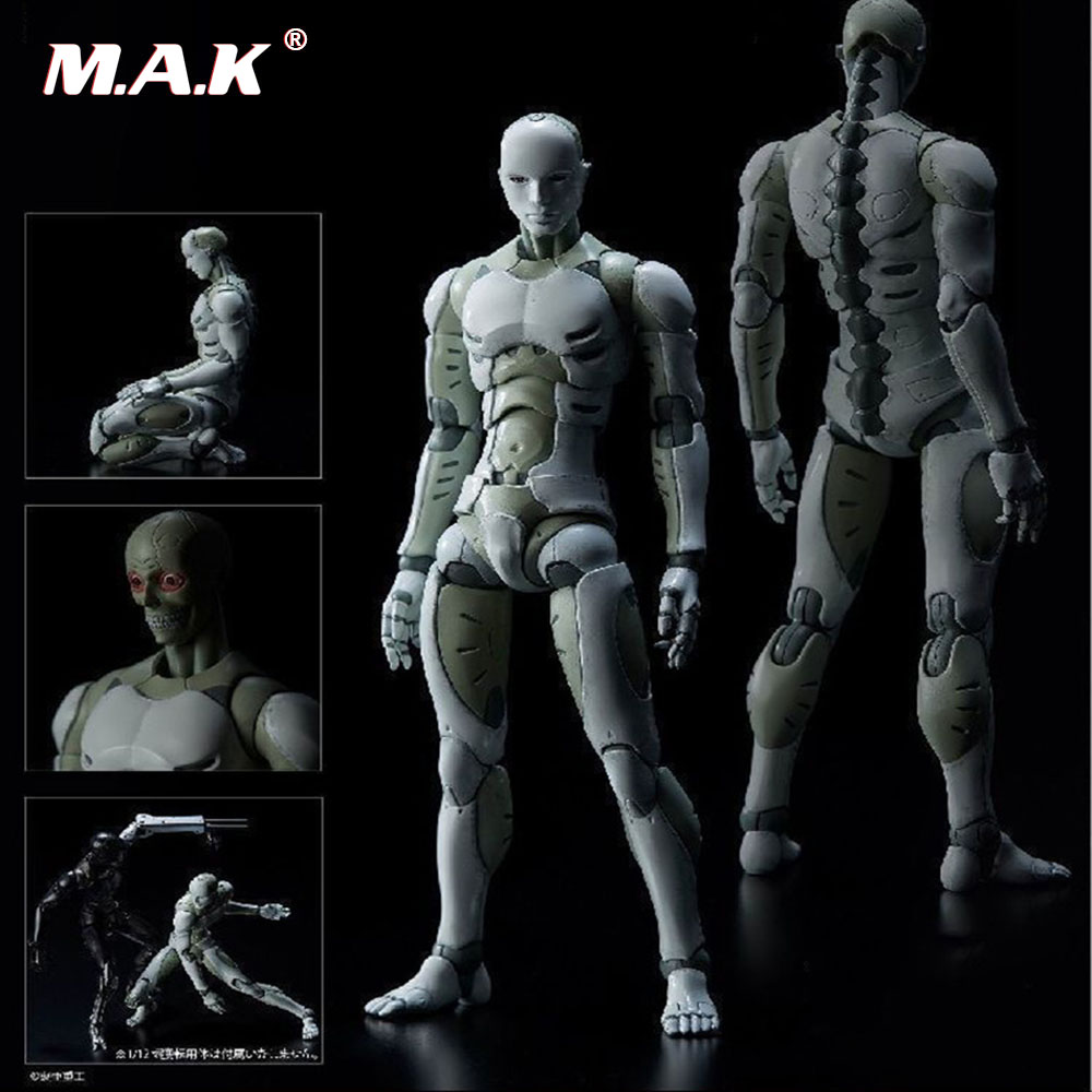 1/6 Scale Full Set of Body with Head TOA Heavy Industries Synthetic Super Flexible Human Action Figure Model Toy
