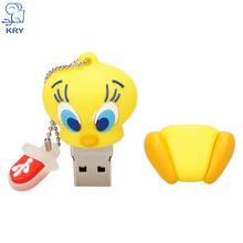 Cartoon USB Flash Drive 2.0 4GB 8GB 16GB 32GB 64GB