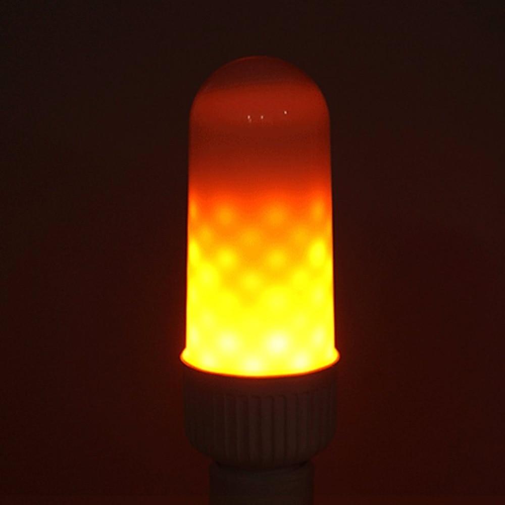 LED Flame Lamp LED Flame Effect Light Bulb AC85~265V 3W Flickering Emulation Fire Light LED Decoration for Sales