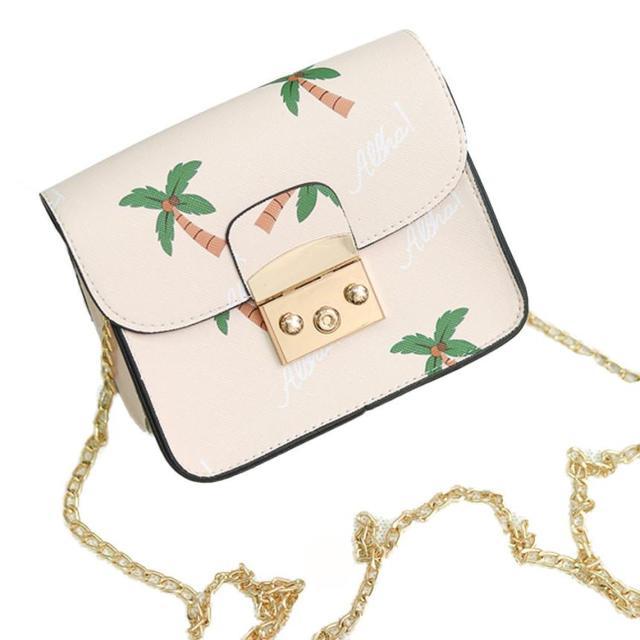 Xiniu 2017 womens bag cross body kettingen schouder Handtassen bloemen hoge kwaliteit pu lederen tassen #5 M