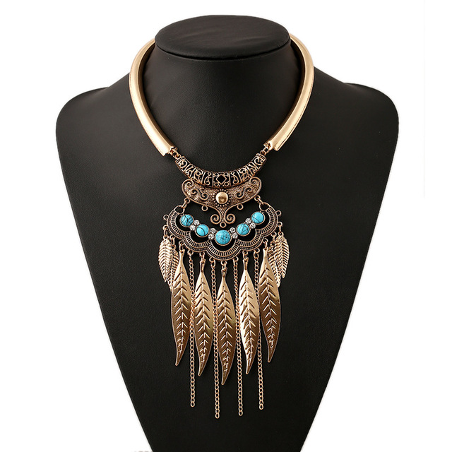 Angel Feathers Necklace Inspired by Celtic Druids