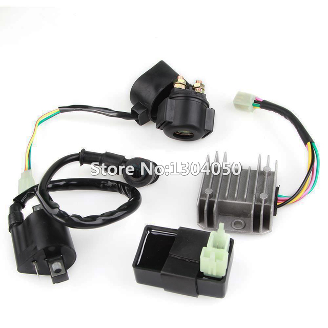 Aliexpress Com   Buy Regulator Rectifier Relay Ignition Coil 6 Pin Cdi Box Kit For Chinese Atv