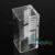 Acrílico Dental caja del sostenedor del organizador ortodoncia Preformed alambre producto