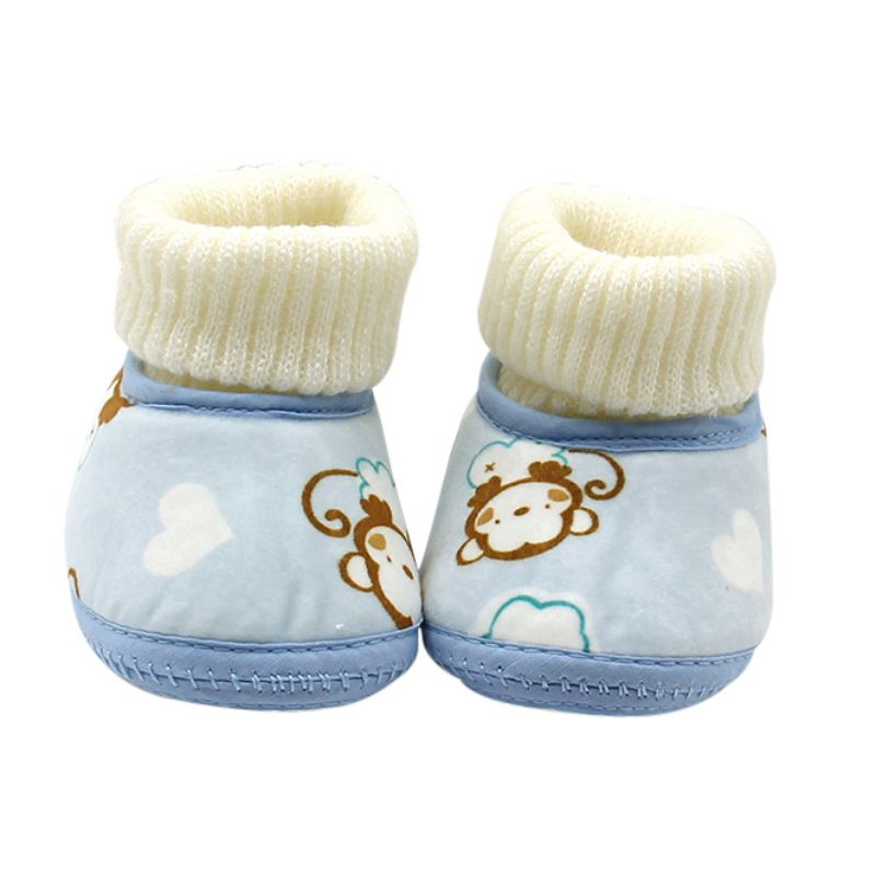 Baby Girl Boy Winter Warm Snow Boots Toddler Bow Soft Sole Shoes Prewalker 0-18M Baby Shoes