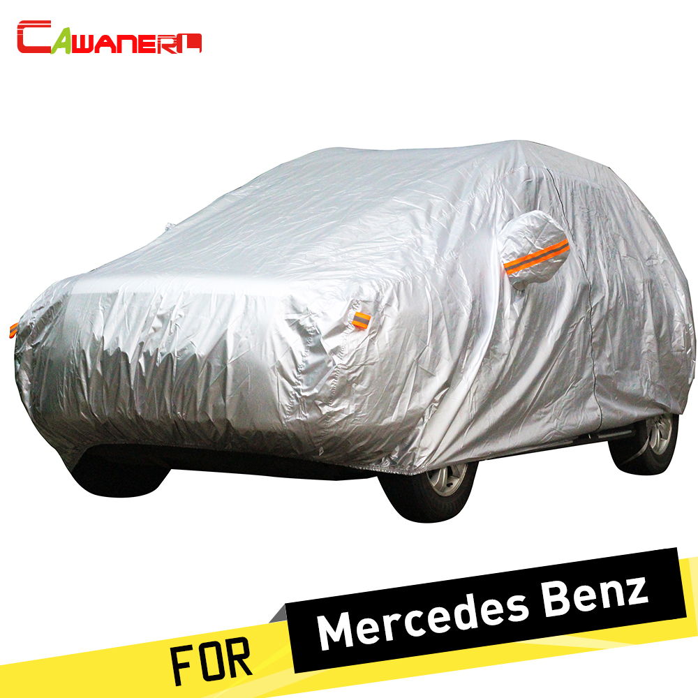 Cawanerl SUV Car Cover Outdoor Sun Rain Snow Resistant Cover For Mercedes Benz GLK200 GL ...