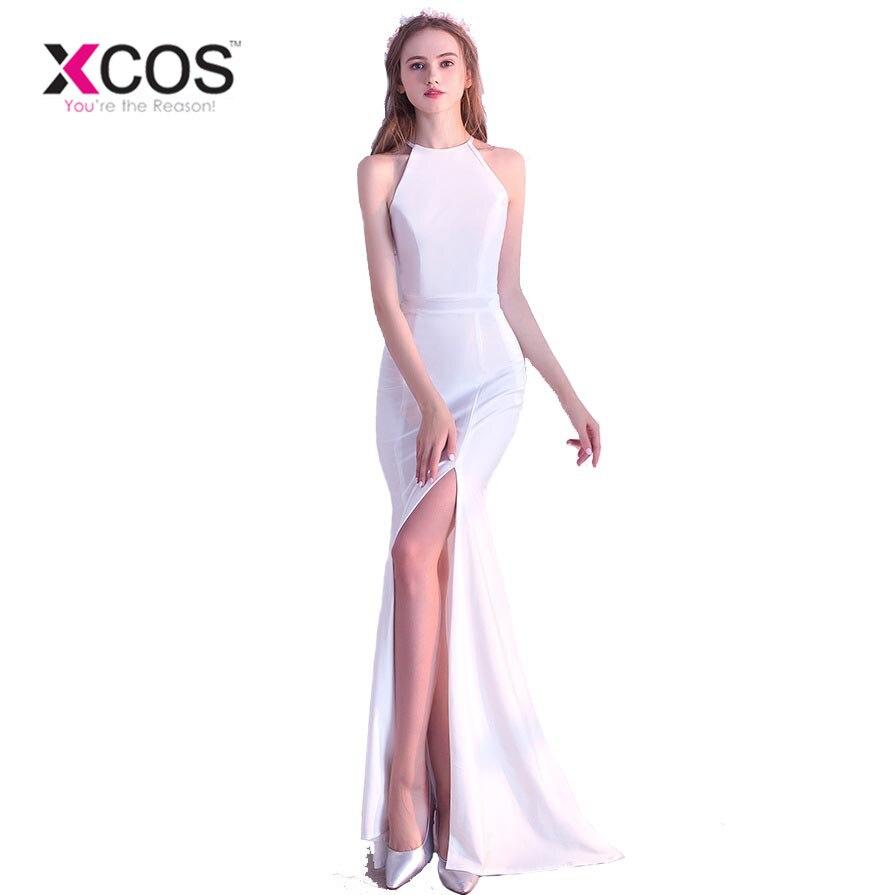 XCOS robes De Formatura Occasion robes pour femmes sirène robes De bal rouge Royal bleu robe De soirée acheter directement De la chine