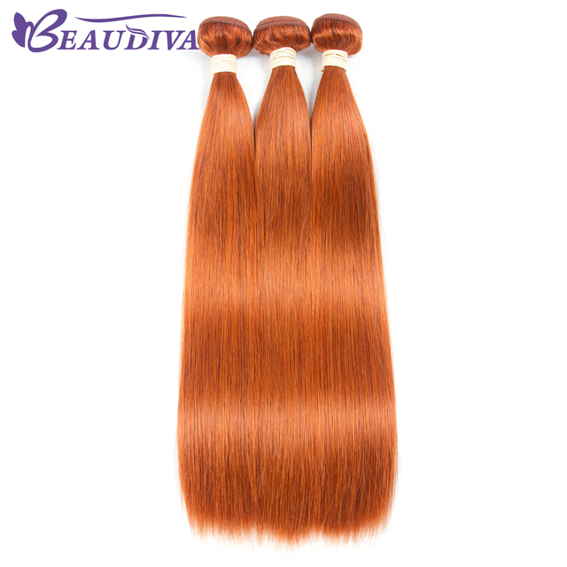 Beaudiva Pre Colored Human Hair Weave Straight 350 Colored