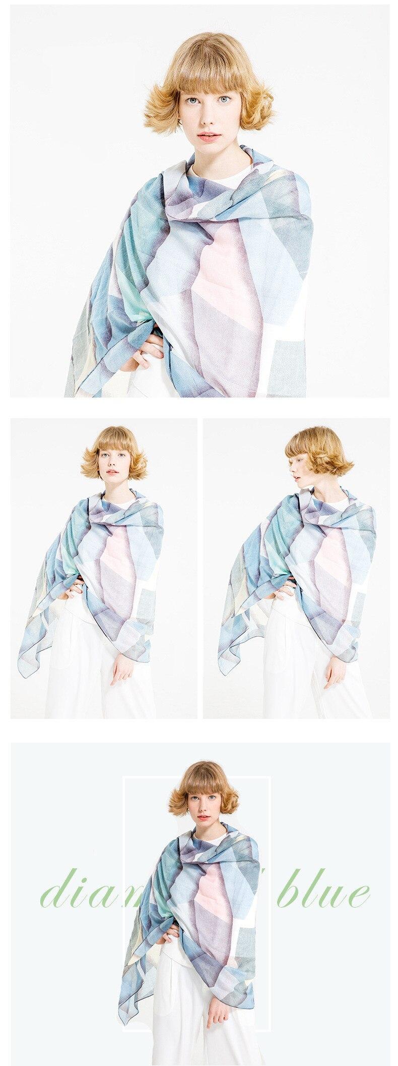 US SELLER FREE SHIPPING  neck scarves for women flower boho retro satin  MR1