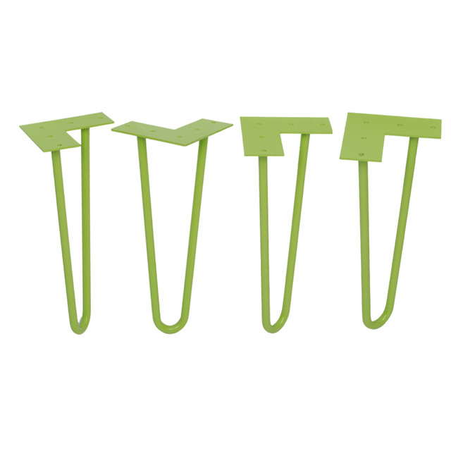 12 Inch Tall Hairpin Legs For Your Diy Project, Set Of 4 ,2 ROD