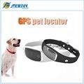 Luxo Silicone Cão Coleira do animal de Estimação GPS WIFI Posicionamento Inteligente Atividade rastreador Anti perdido Poder Grande Longa Espera até 3 dias