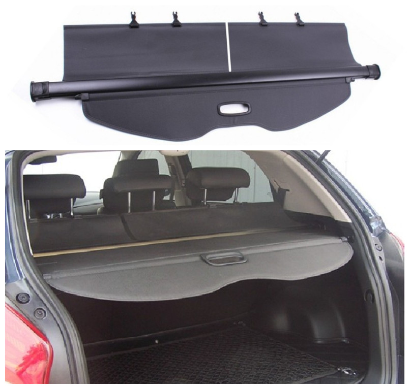 For Ssangyong Korando 2011-2018 Rear Trunk Cargo Cover Security Shield Screen Shade High Qualit Car Accessories