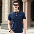 High quality men's new fashion plain color summer polo shirt