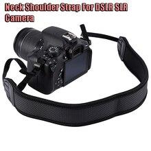 Неопрен шейный ремешок для DSLR SLR камеры слинг ремень для Canon Nikon Sony Fujifilm Instax