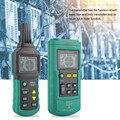 Mastech MS6818 портативный профессиональный проводный кабель трекер металлоискатель тестер линия трекер напряжения 12 ~ 400 В