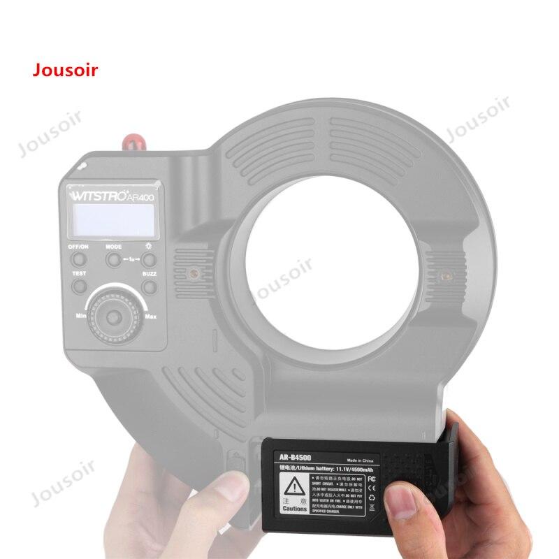 Godox Li-Ion batteria 11.1 V 4500mA AR-B4500 per Witstro AR400 Anello di Luce del Flash CD50 T03Godox Li-Ion batteria 11.1 V 4500mA AR-B4500 per Witstro AR400 Anello di Luce del Flash CD50 T03