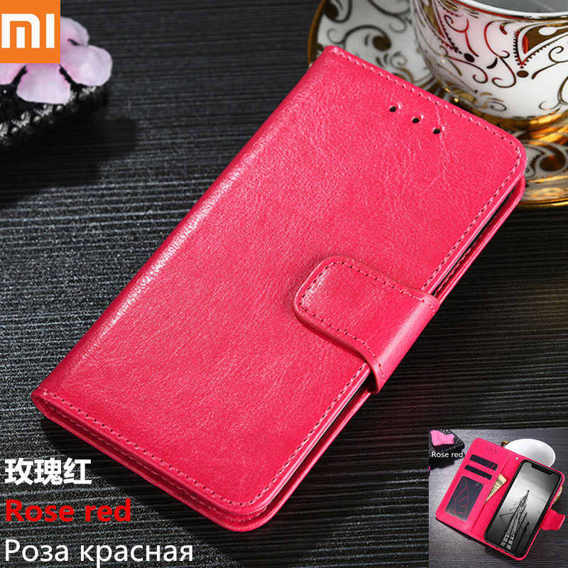 Leather Soft Case for xiaomi 9 cc9 mi 8 8se 8lite a1 a2 mix2s max2 max3 F1redmi note 7 6 5 4 s2 y1 y2 4/6A Flip Wallet TPU Cover