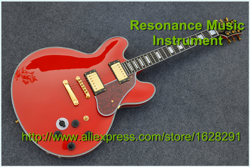 100% Real Pictures B.B.King Lucille Guitar ES 335 Red Color Archtop Body In Stock For Sale corporate real estate management in tanzania