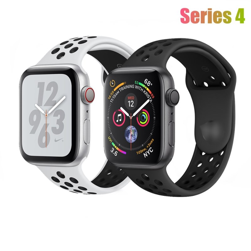 40mm 44mm Band for Apple Watch Series 4 Soft Silicone Bands Multi Colour Sports Replacement Wrist Strap for iWatch 4 Watchband цвета apple watch 4