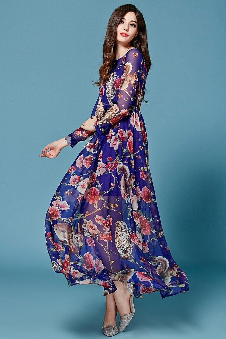 2016 Summer New Fashion Street Women Elegant Translucent Long Sleeve ...