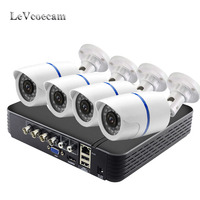 4 Ch Video Surveillance AHD DVR Security 2MP AHD Camera System 4 Day & Night AHD 1080p Security Weatherproof Surveillance Camera