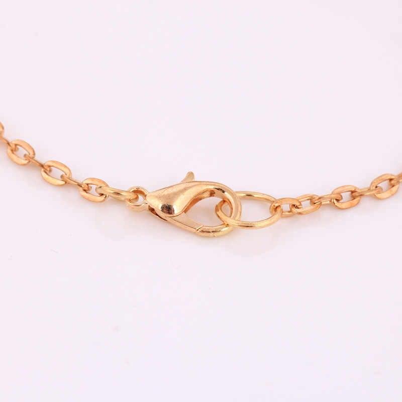 Długi naszyjnik kobiety trendy tassel chain alloy dla kobiet moda złoty kolorowy naszyjnik biżuteria duży choker wisiorki akcesoria