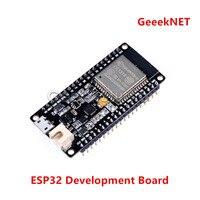 GeeekNET ESP32 Geliştirme Kurulu Çift Çekirdekli ESP32 Çip 4MP Ayarlı Anten ile WiFi & Bluetooth Klasik/LE Destek