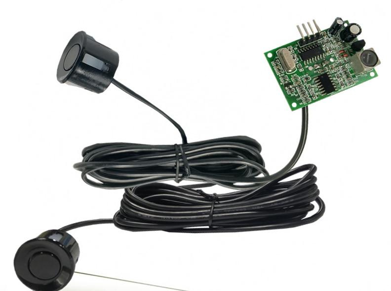 Integrated Ultrasonic Ranging Module Back-up Radar Ultrasonic Sensor 2.5m Cable Probe Ultrasonic Distance Measuring Module