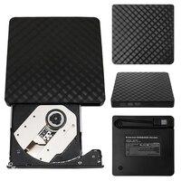 Внешний USB 3,0 CD DVD Rom писатель Rewriter горелки плеер для Macbook портативных ПК