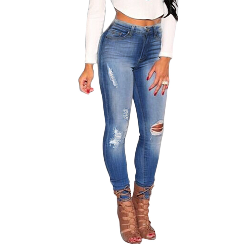 Online Get Cheap Bleached Ripped Skinny Jeans -Aliexpress.com ...