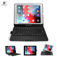 Wireless Bluetooth Keyboard Case For iPad 9.7 2018 Case Smart Tablet Cover For iPad 9.7 2018 2017 Pro 9.7 With Pencil Holder