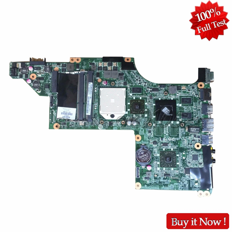 NOKOTION 595133-001 Main Board For HP PAVILION DV6 DV6-3000 Laptop Motherboard HD5470 nokotion 578377 001 laptop main board for hp pavilion dv6 dv6 1000 notebook motherboard gm45 ddr3 free cpu