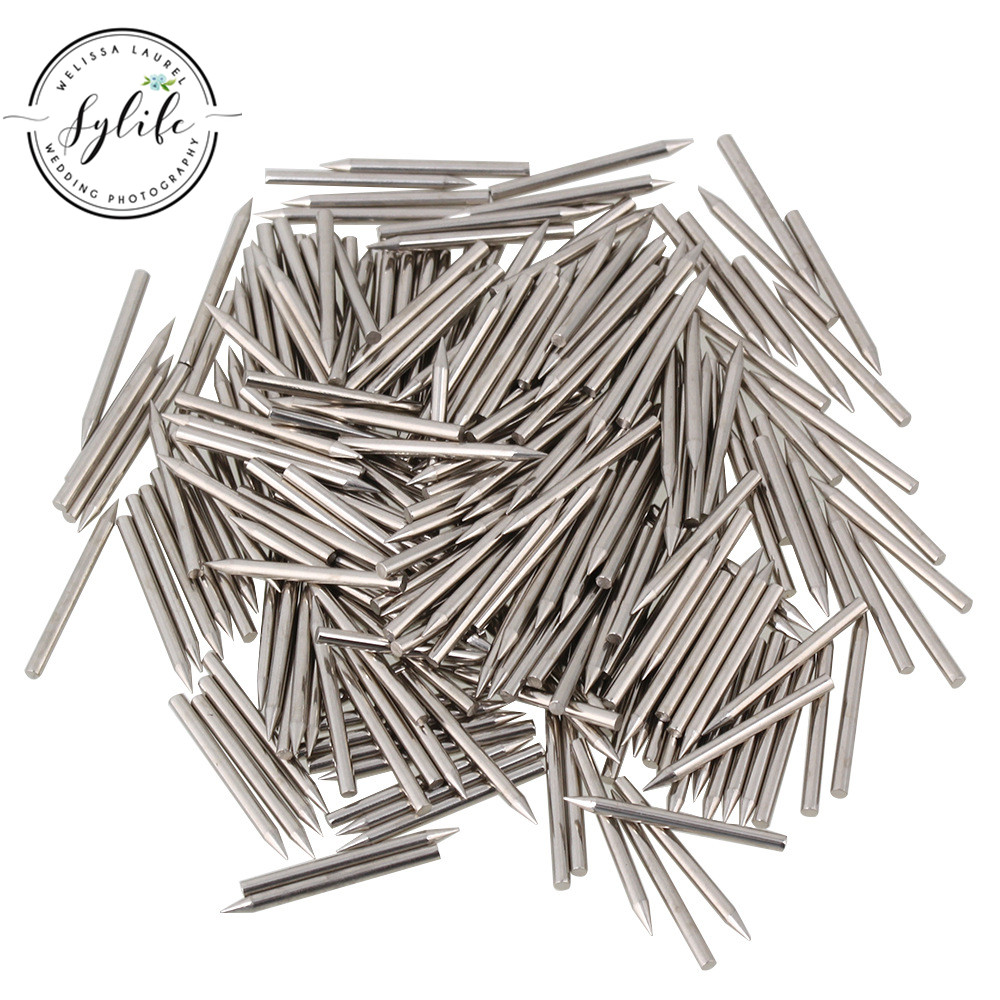 1.4mm Dia Stainless Steel Silver Piano Center Pins Repair Replacement Silver