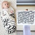 Новорожденный Мальчик Девочка Младенческой Хлопок Одеяло Пеленание Пеленание Спальный Мешок 0-24 М