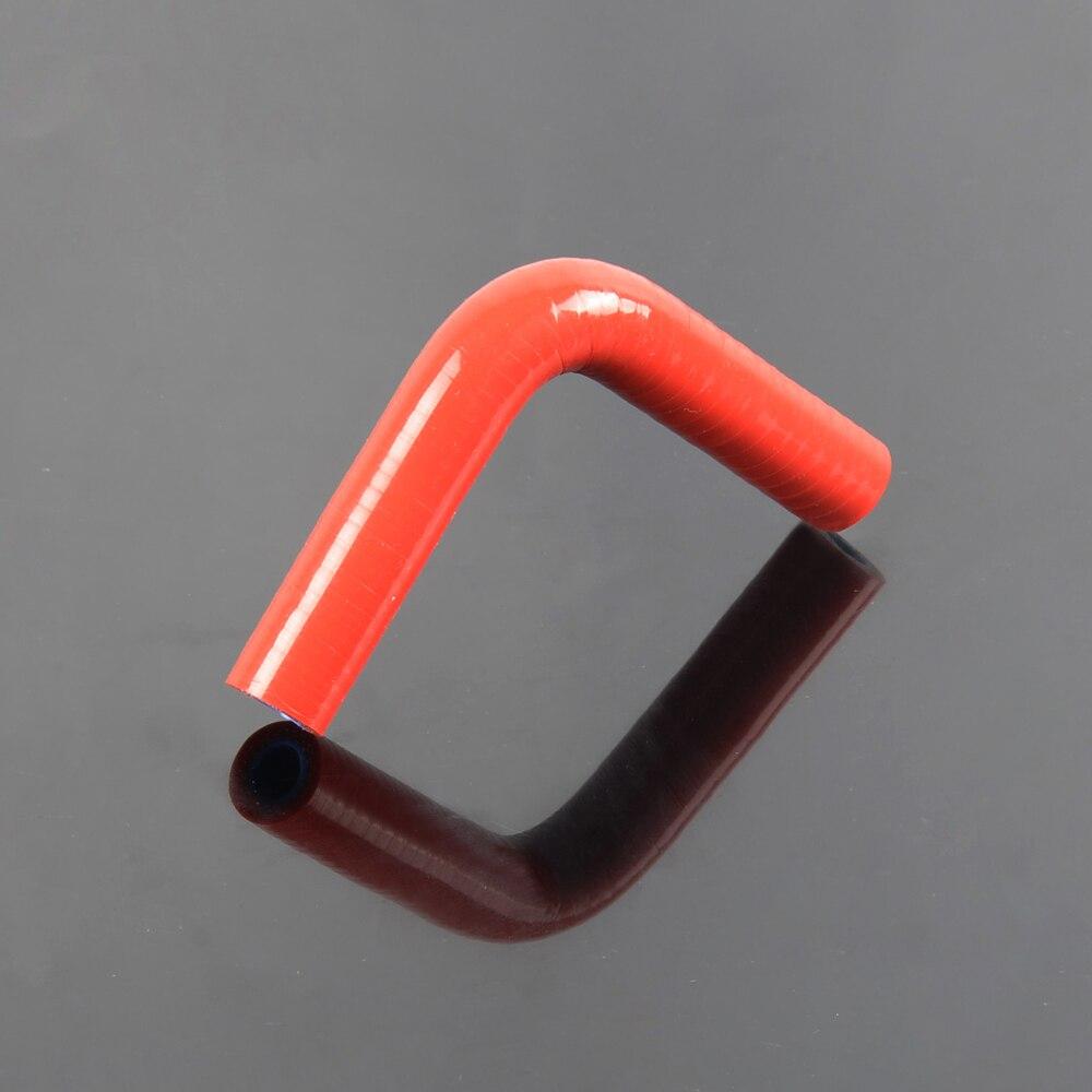 Frete Grátis 11mm 7 16 90 Graus Mangueira Silicone Turbo Cotovelo Acoplador  Tubo Mangueira b962e7207a5